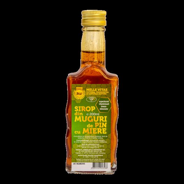 Sirop din muguri de pin cu miere