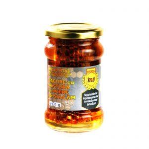 Fagure cu pastura in miere de salcam 360g