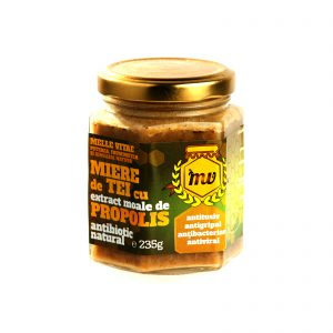Miere tei extract moale propolis 235g